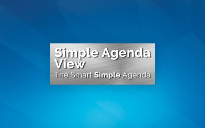 Lightning Component: Simple Agenda View 2