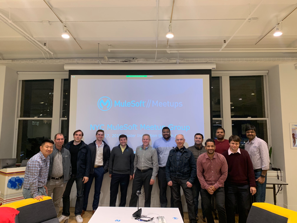 NYC Mulesoft Meetup Recap: Fostering Innovation through APIs 1