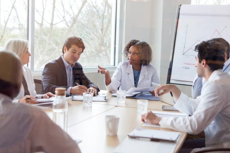 Silverline Doctors in Conference Room